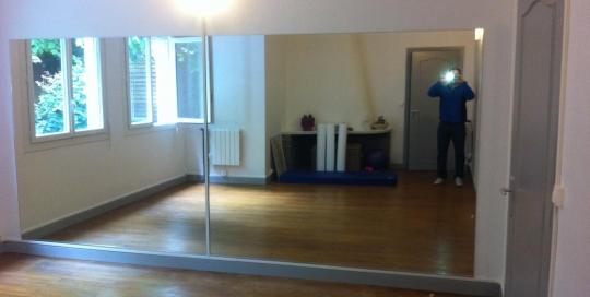 miroir salle de sport archives abm miroiterie vitrerie. Black Bedroom Furniture Sets. Home Design Ideas